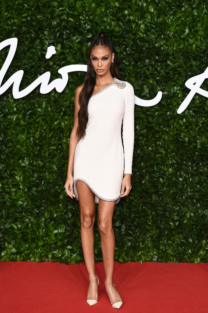 Joan Smalls at the British Fashion Awards 2019