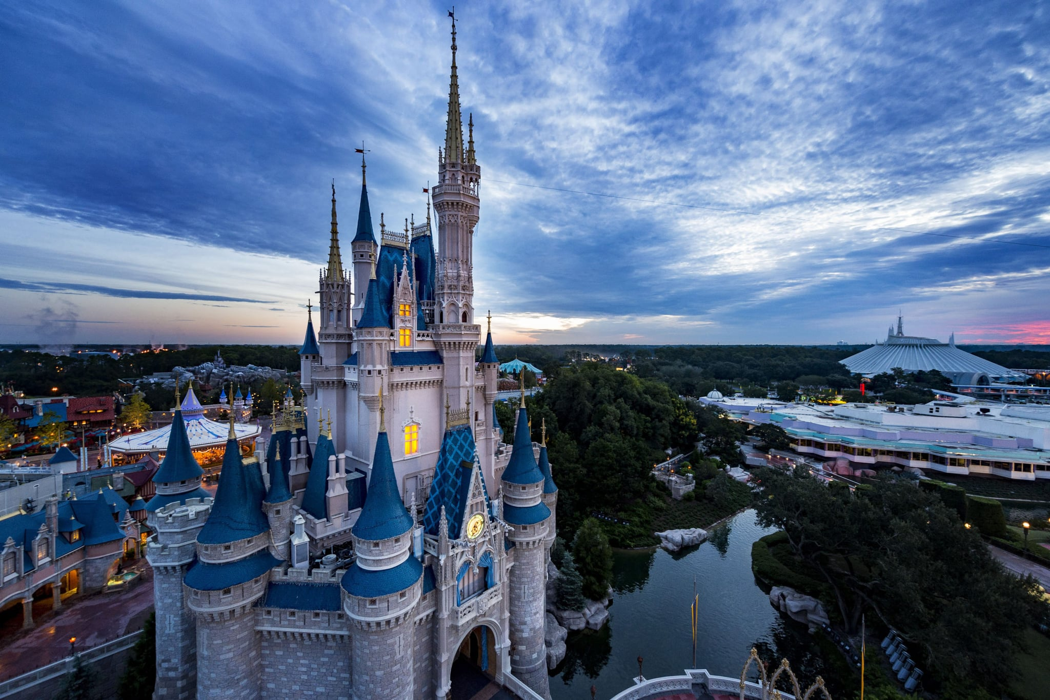 Walt Disney World Resort theme parks in Lake Buena Vista, Fla., plan to begin a phased reopening in July, pending approval from local and state authorities. Magic Kingdom Park (pictured) and Disney's Animal Kingdom are planned to reopen on July 11, 2020, followed by EPCOT and Disney's Hollywood Studios on July 15, 2020. (Matt Stroshane, photographer)