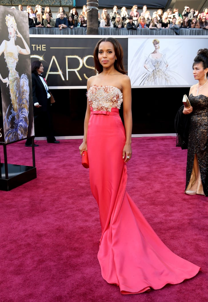 Kerry Washington At The 2013 Academy Awards The Best