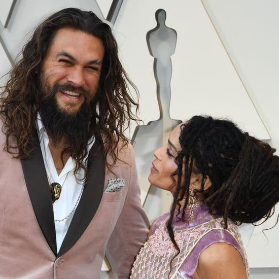 2019 Jason Momoa: Jason Momoa Hair Accessory Oscars 2019