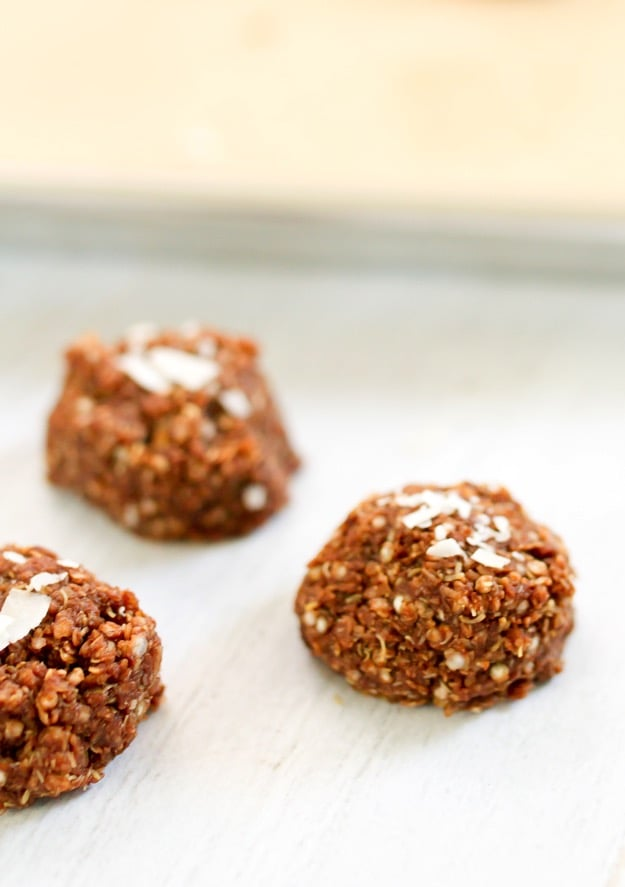 Coconut Quinoa Cookies