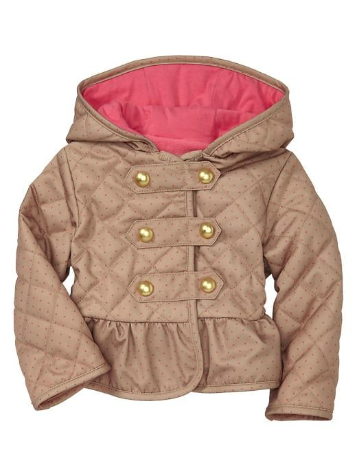 Drop-Waist Quilted Jacket ($35)