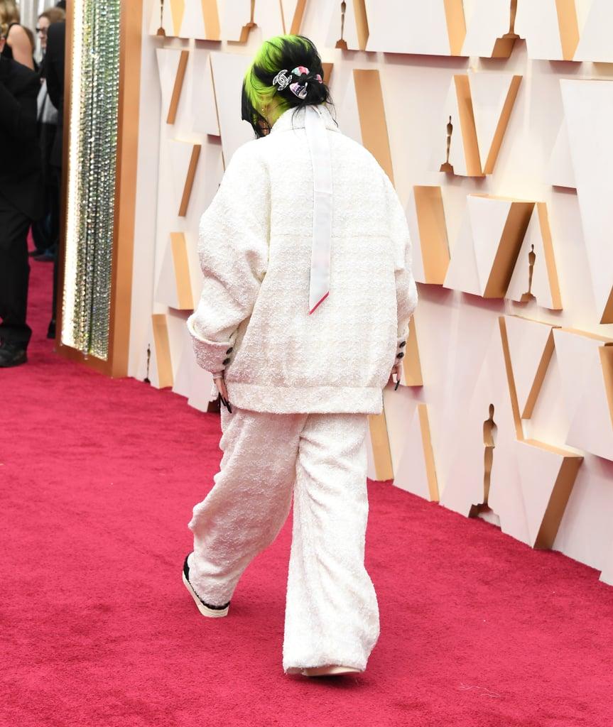 Billie Eilish at the Oscars 2020