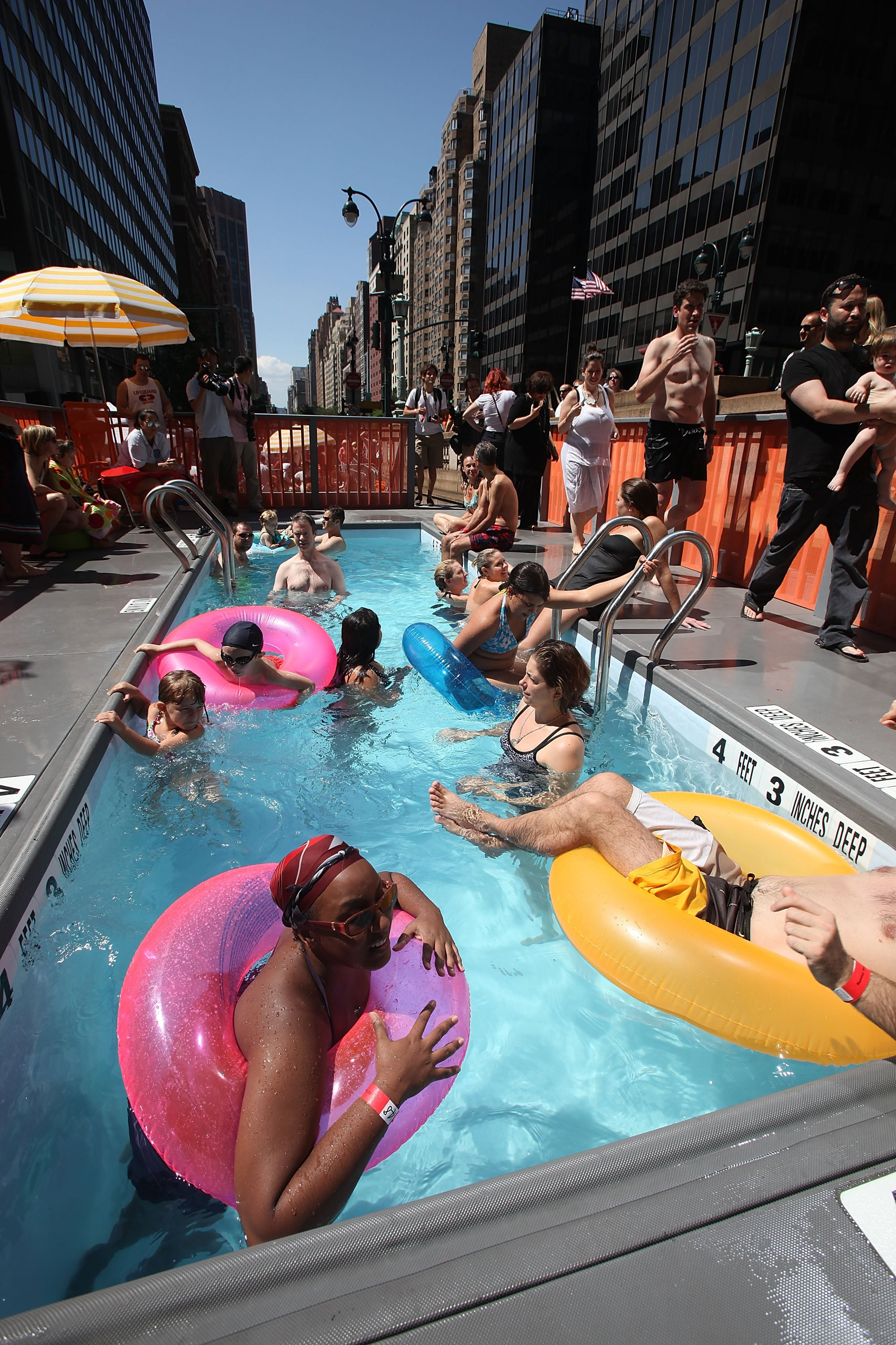 Pictures Of Dumpster Pools In New York City Popsugar Love Sex