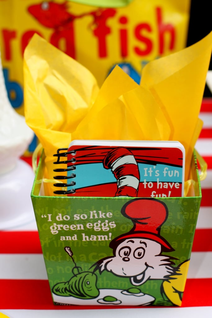 Dr. Seuss Birthday Party Favors