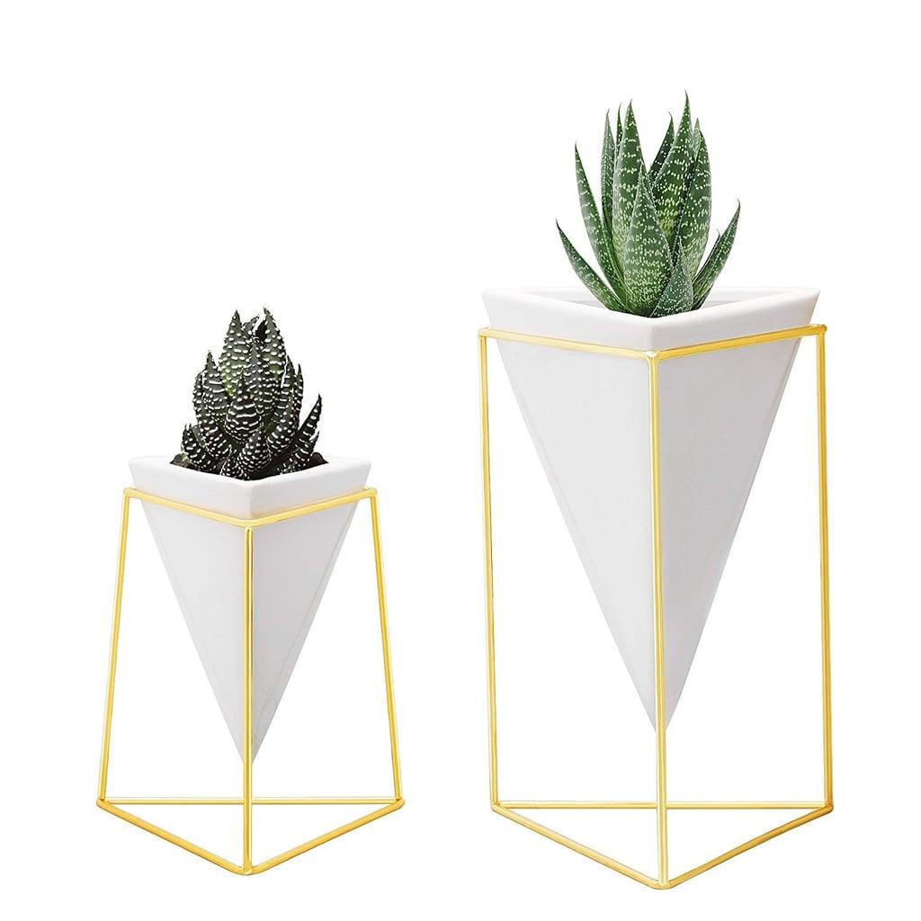 Geometric Table Vases