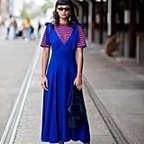 Wear a Striped Tee Under Your Summer Dress