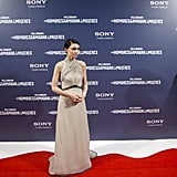 Rooney Mara was out for The Girl With the Dragon Tattoo in Madrid.