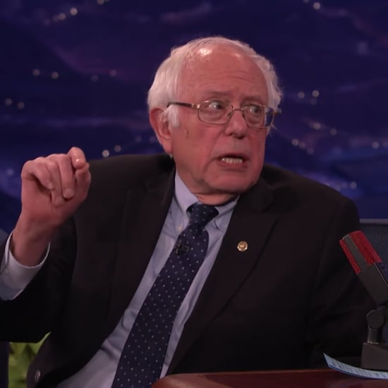 Bernie Sanders's Comments About Trump's Tweets on Conan
