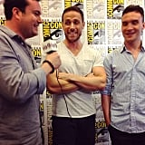 These #OrphanBlack boys are SO handsome. Our interview on the site soon!
