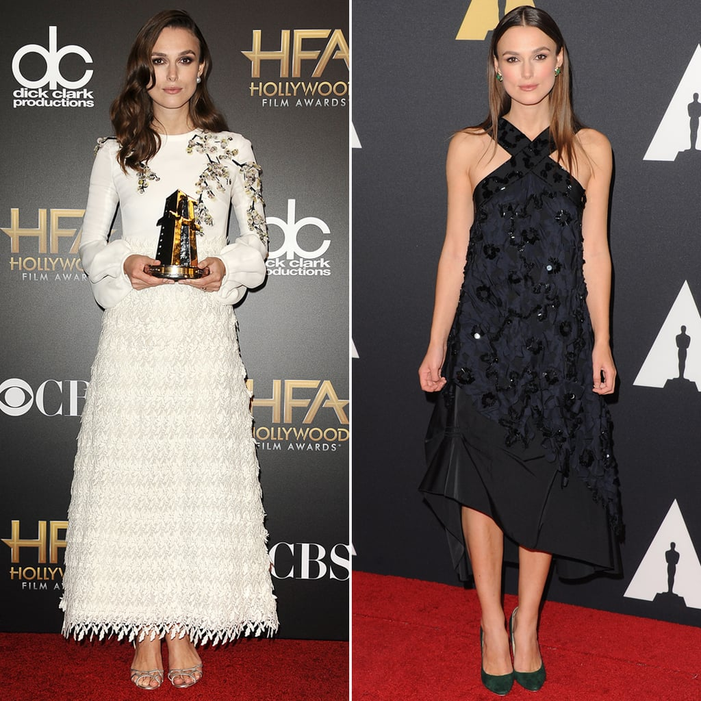 Keira Knightley's Dresses For The Imitation Game