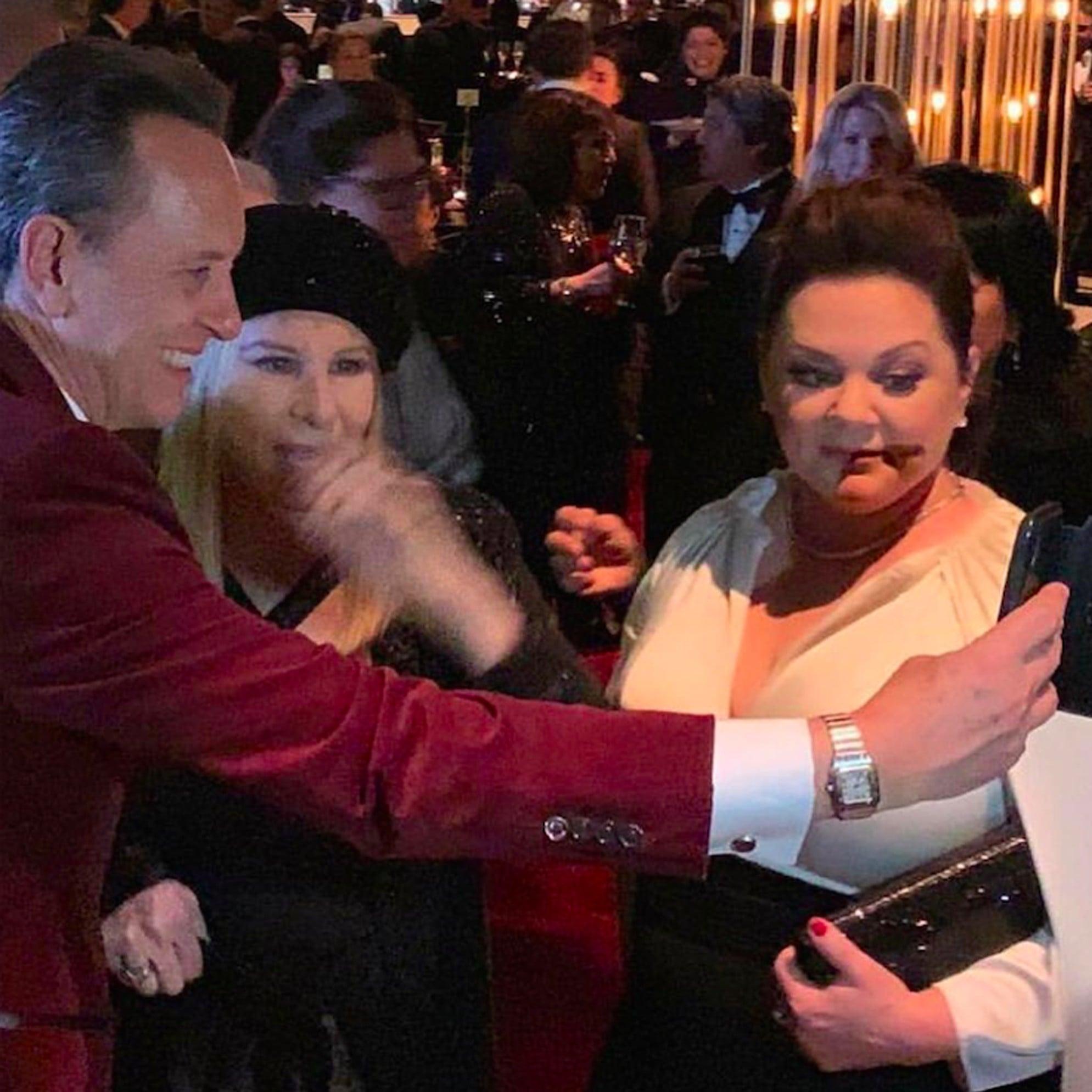 Richard E  Grant Meeting Barbra Streisand at the 2019 Oscars
