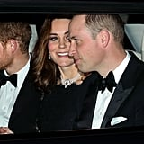 Kate Middleton at Queen Elizabeth's 70th Anniversary Dinner