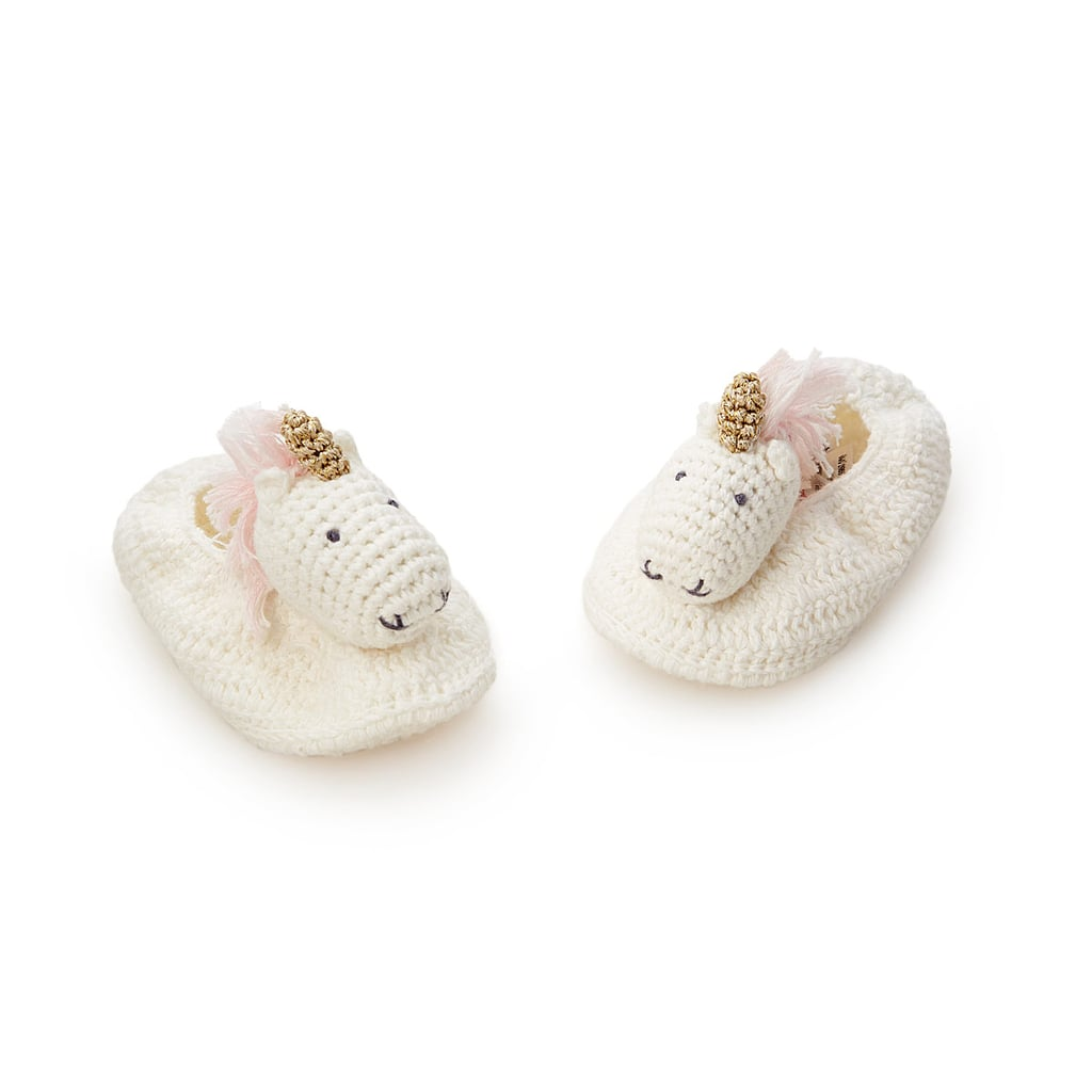 For 1-Year-Olds: Unicorn Booties