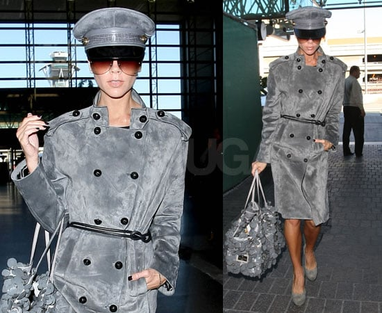 Photos of Victoria Beckham Dressed in Gray