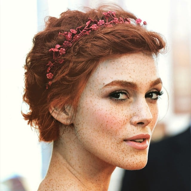 Keira Knightley | Celebrities as Redheads | Instagram ...