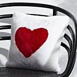 """16"""" Loves You Faux Fur Pillow ($50)"""