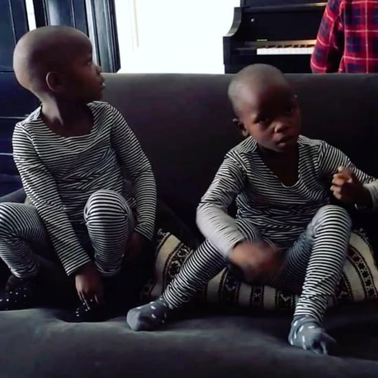 Madonna Instagram Video of Twin Daughters Singing Feb. 2017