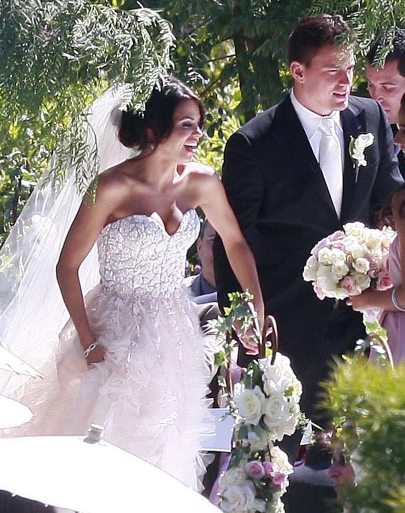 "Channing and Jenna said ""I do"" in Malibu, CA, on July 11, 2009."
