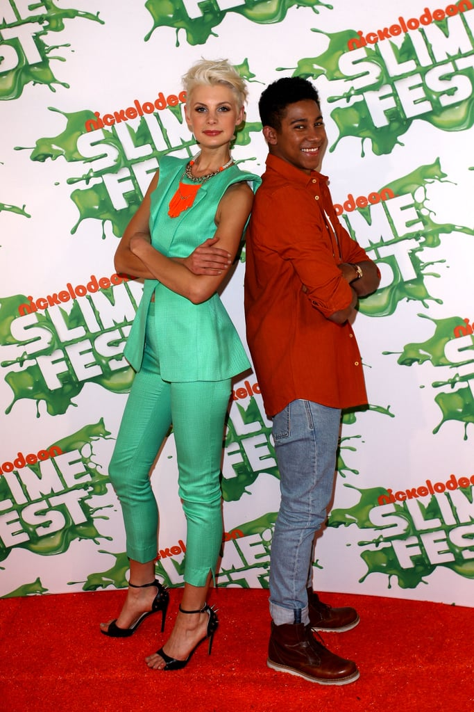 Kate Peck and Keiynan Lonsdale