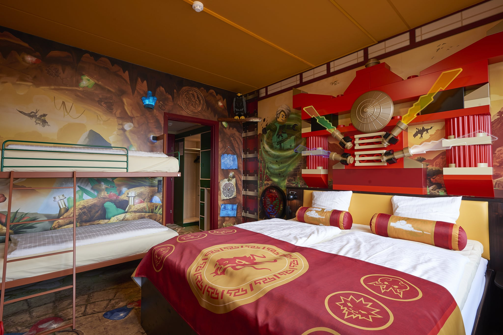Lego Ninjago Themed Room Legoland New York Is Opening In July 2020 Get A Peek At What It Ll Look Like Popsugar Family Photo 43