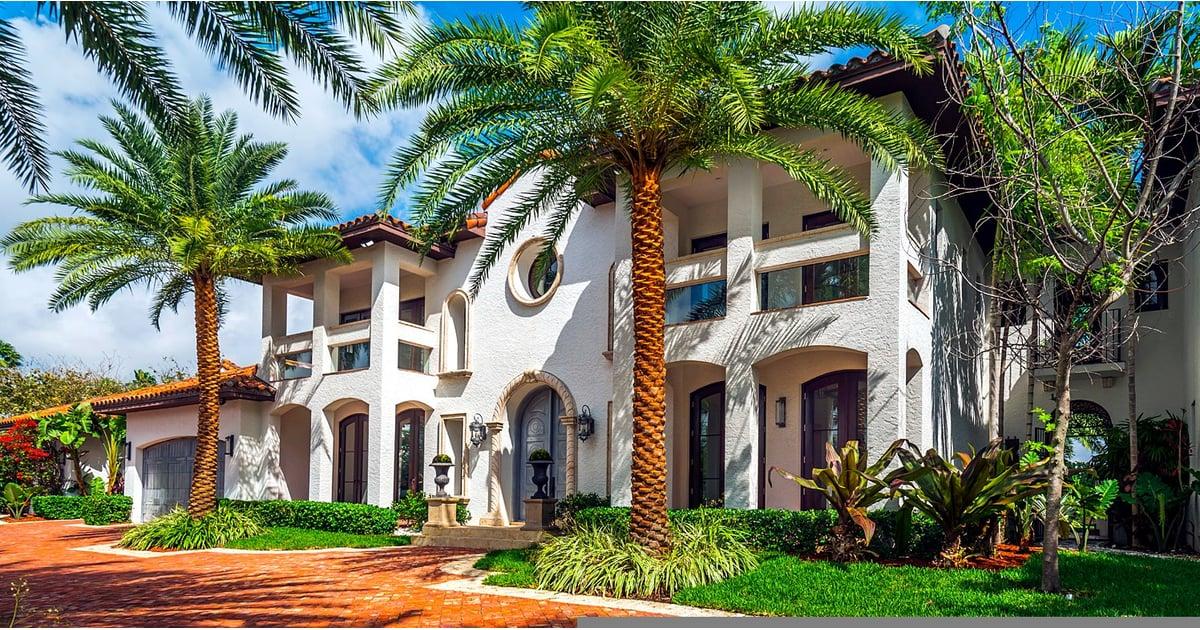 Jamie Foxx Miami Airbnb Mansion Popsugar Home