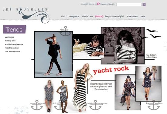 Les Nouvelles Online Shoppping Site 2010-05-15 16:33:25