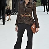 Olivia Palermo at Burberry