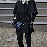 Add Leather Gloves and Chunky Jewels to Make a Trench Coat Edgy