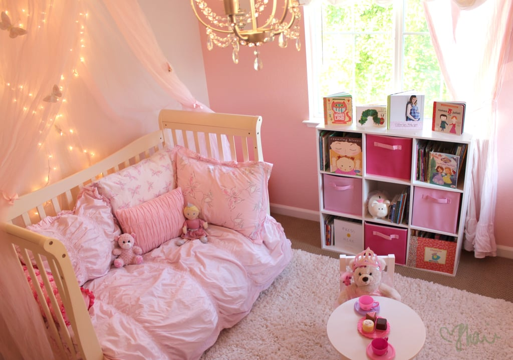 pink toddler bedroom ideas comfy space pink princess butterfly room for 16757
