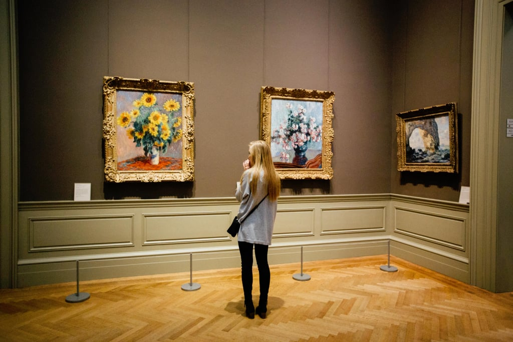 Go on a museum crawl.