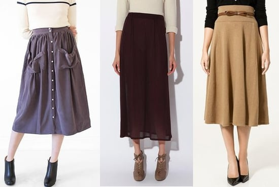 Look We Love: Tea-Length Skirts