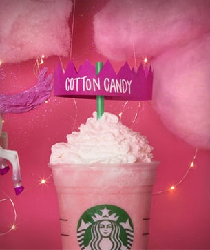 Do You Want to Try: Cotton Candy Crème Frappuccino Blended Crème