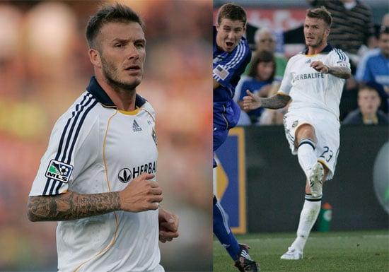 Photos of David Beckham Playing for LA Galaxy in Kansas City
