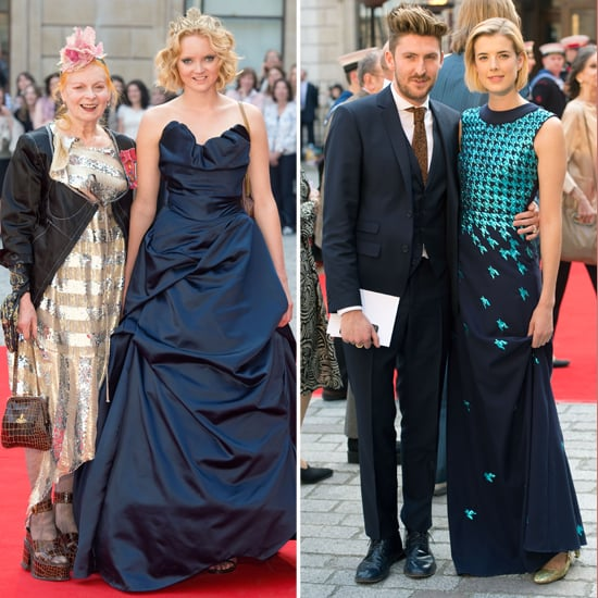 British Designers and Muses Meet Queen at Celebration Of Arts