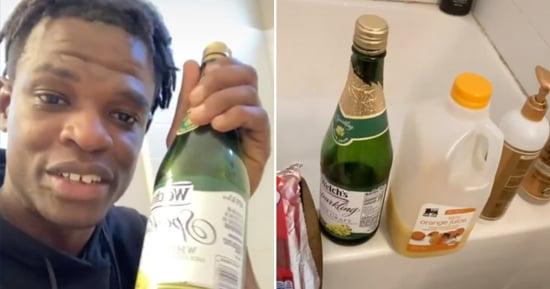 Dad Discovers Daughter Drinking Mimosas in Bathtub | TikTok