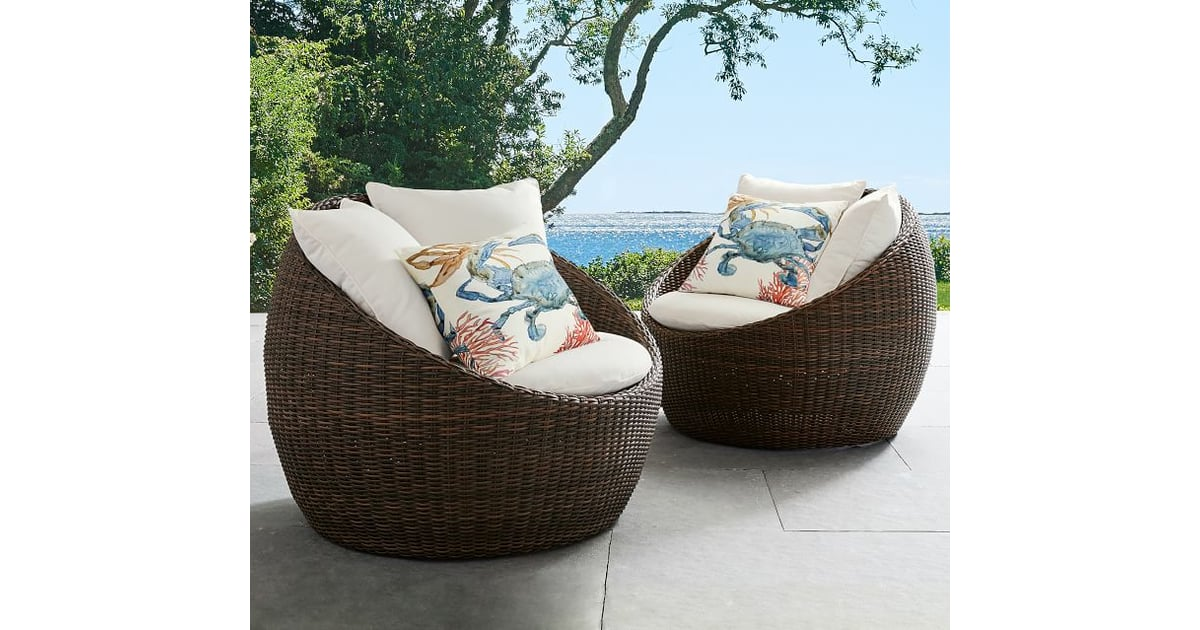 Torrey All Weather Wicker Papasan Chair Best Patio