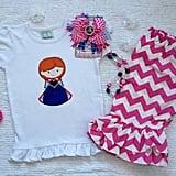 Anna Shirt and Capri Set