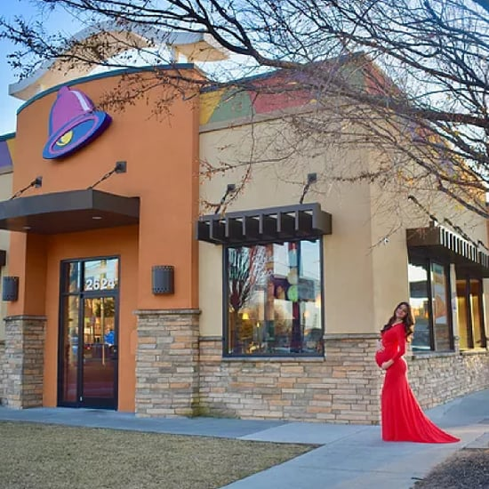 Taco Bell Maternity Photos