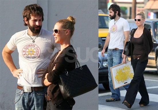 Katherine Heigl and Josh Kelley in LA
