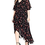 City Chic Fall in Love Wrap Dress