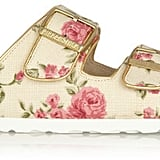 Floral Birkenstock Sandals