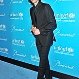 Adrien Brody attended the UNICEF Snowflake ball in NYC.