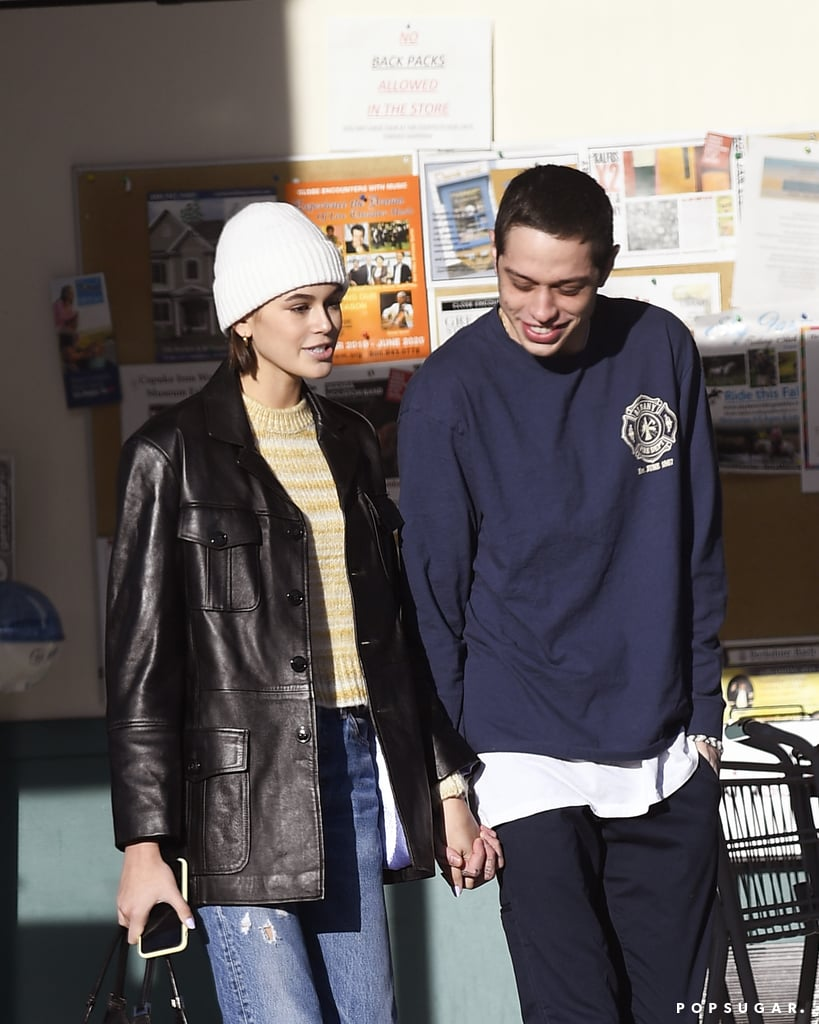 Pete Davidson and Kaia Gerber Make It Official