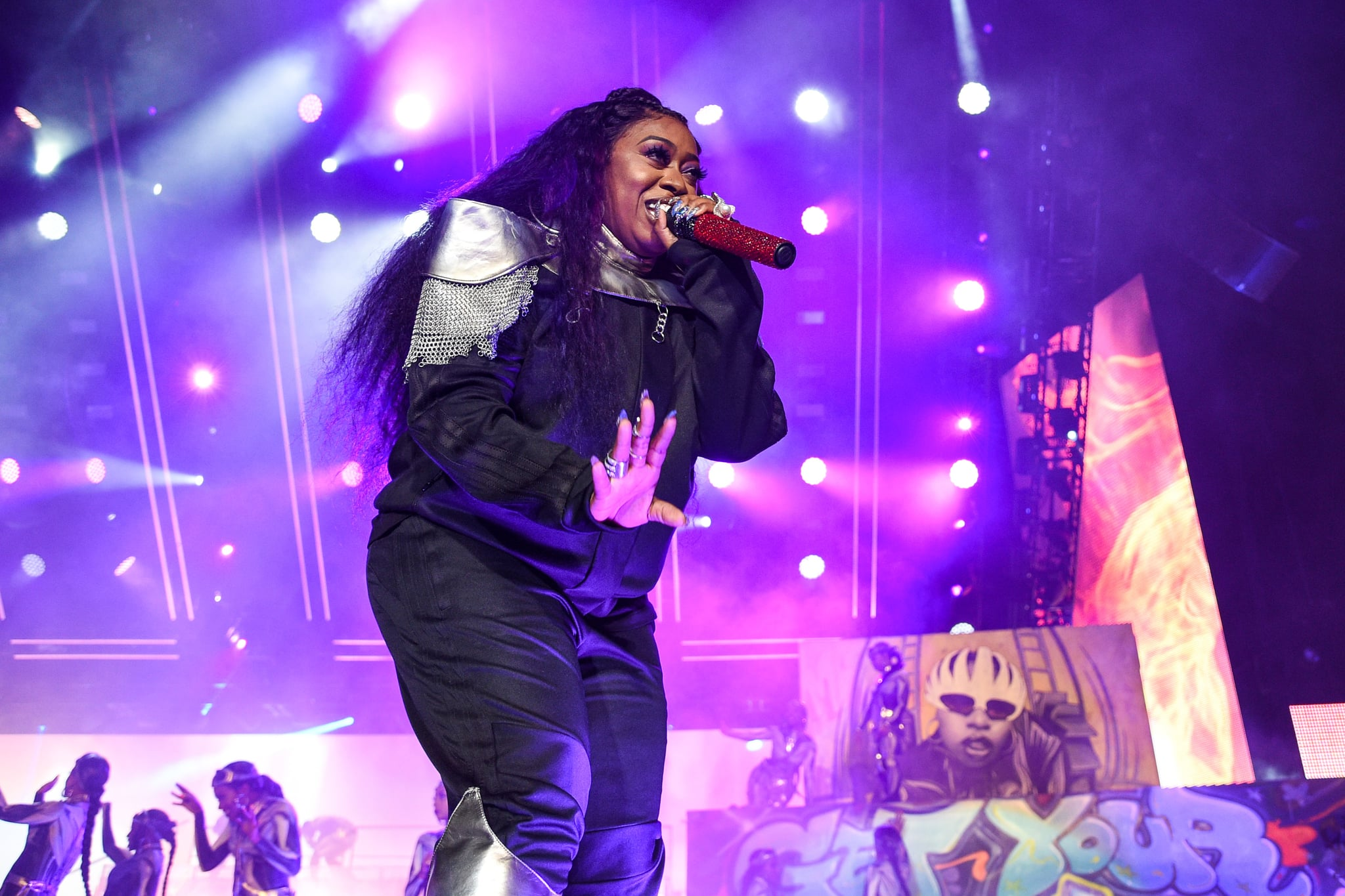NEW ORLEANS, LOUISIANA - JULY 05: Missy Elliott performs during the 2019 ESSENCE Festival at the Mercedes-Benz Superdome on July 05, 2019 in New Orleans, Louisiana. (Photo by Erika Goldring/Getty Images)