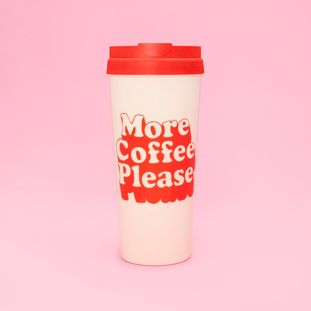ban.do Hot Stuff Thermal Mug - More Coffee Please ($14)