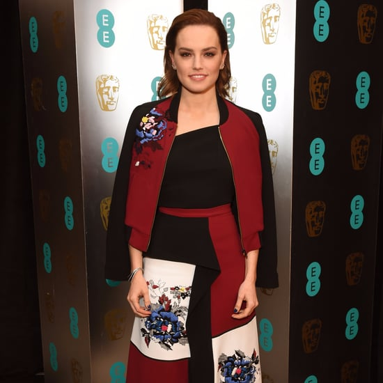 Daisy Ridley's Bomber Jacket at the BAFTA Awards
