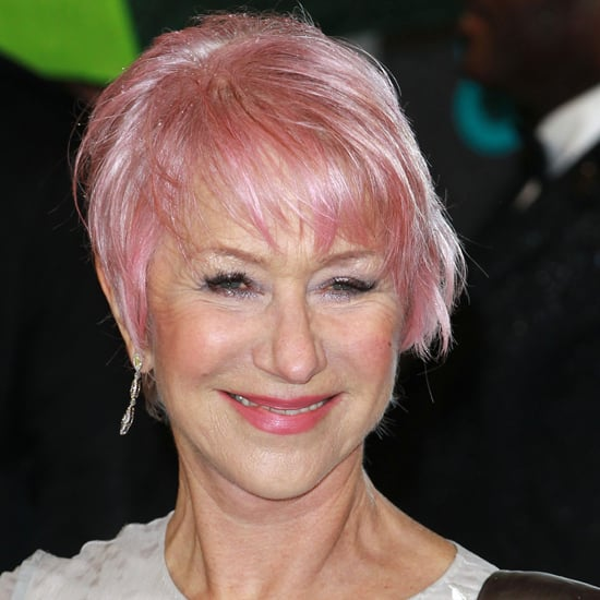 Color Trends What S New What S Next: Helen Mirren New Pink Hair