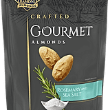 Blue Diamond Crafted Gourmet Rosemary and Sea Salt  Almonds