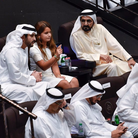 Sheikh Mo and Family Attend Sheikh Mo